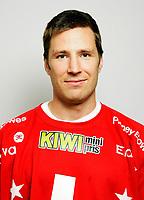 Ishockey<br /> Getligaen 2009<br /> Portrett Portretter<br /> 22.08.2009<br /> Lillehammer LIK<br /> Stefan Sjödin<br /> Foto: Eirik Førde
