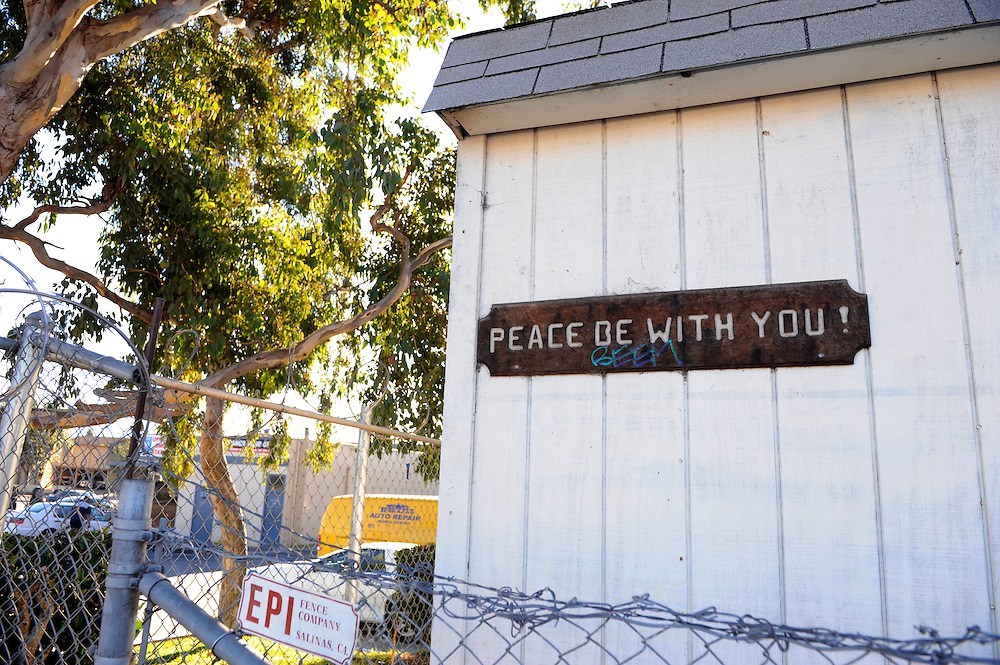 East Salinas has been troubled by sporadic gang violence, and the working-class area of Acosta Plaza where Second Chance is located is no exception. The United Methodist Church of East Salinas appeals for peace.