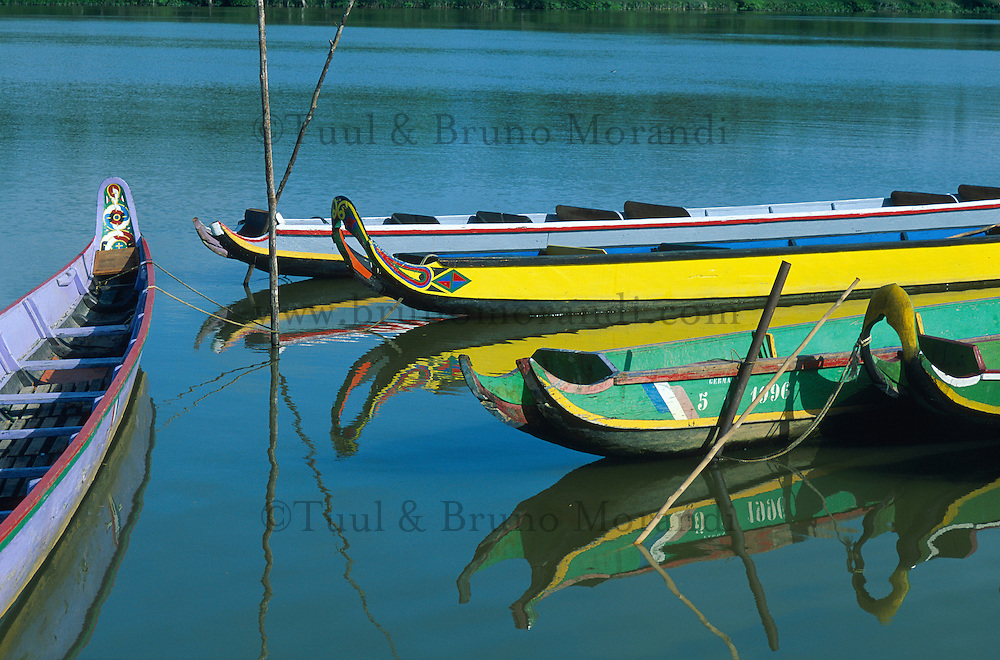 France. Guyane. Fleuve Maroni. Saint Laurent du Maroni. // Saint Laurent du Maroni - Maroni river - French Guyane - France