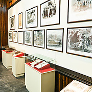 Photos and exhibit cases. The Museum of the Vietnamese Revolution in the Tong Dan area of Hanoi, not far from Hoan Kiem Lake, was established in 1959 and is devoted to the history of the socialist revolutionary movement in Vietnam.