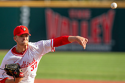 NORMAL, IL - April 08: Colton Johnson during a college baseball game between the ISU Redbirds  and the Sacramento State Hornets on April 08 2019 at Duffy Bass Field in Normal, IL. (Photo by Alan Look)