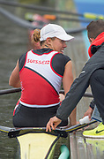 "Rio de Janeiro. BRAZIL right SUI W1X. Jeannine<br /> GMELIN, <br />   2016 Olympic Rowing Regatta. Lagoa Stadium,<br /> Copacabana,  ""Olympic Summer Games""<br /> Rodrigo de Freitas Lagoon, Lagoa. Local Time 10:23:33  Friday  12/08/2016<br /> [Mandatory Credit; Peter SPURRIER/Intersport Images]"