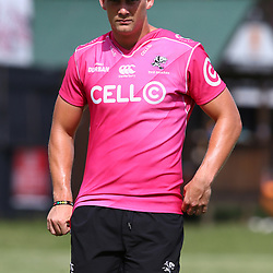 DURBAN, SOUTH AFRICA - FEBRUARY 27: Robert du Preez during the Cell C Sharks training session at Growthpoint Kings Park on February 27, 2018 in Durban, South Africa. (Photo by Steve Haag/Gallo Images)