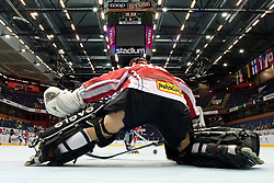 Bernhard Starkbaum of Austria at IIHF In-Line Hockey World Championships qualification match between National teams of Germany and Great Britain on July 1, 2010, in Karlstad, Sweden. (Photo by Matic Klansek Velej / Sportida)
