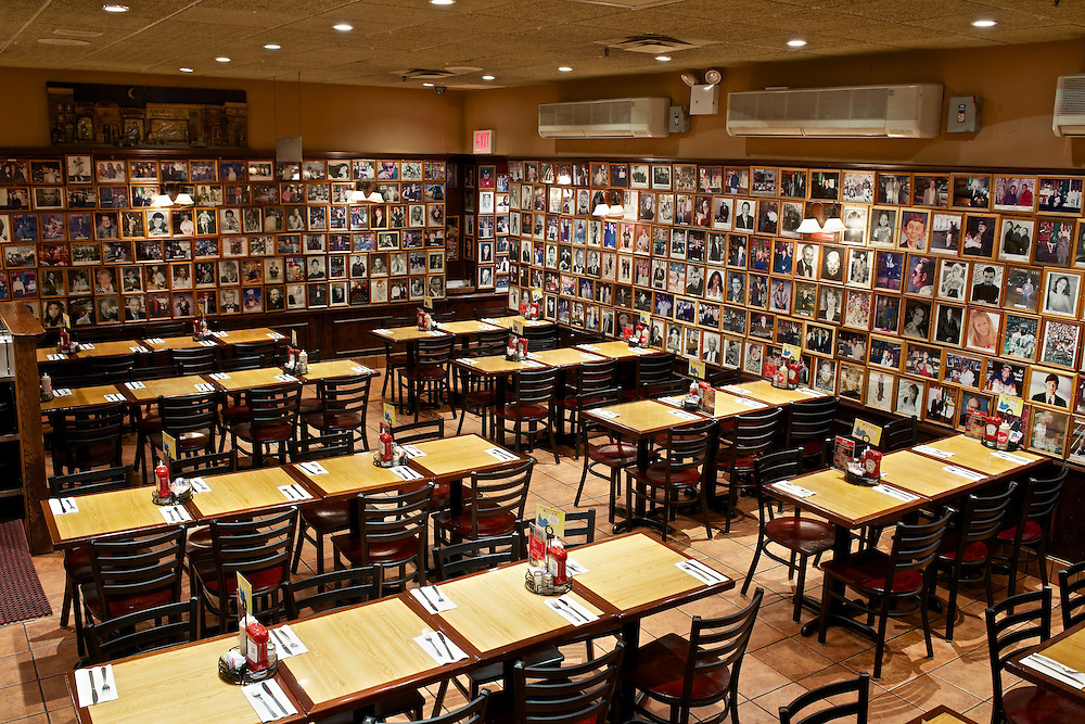 Carnegie Deli's Back Dining Room