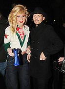 22.FEB.2009 - LONDON<br /> <br /> MATTHEW WILLIAMSON AND JODIE HARSH LEAVING THE OLD DERRY, HOLBORN WHERE SIENNA MILLER AND SISTER SAVANAH HELD THERE FASHION LABEL TWENTY 8 TWELVE'S FIRST CATWALK SHOW AT LONDON FASHION WEEK.<br /> <br /> BYLINE MUST READ : EDBIMAGEARCHIVE.COM<br /> <br /> *THIS IMAGE IS STRICTLY FOR UK NEWSPAPERS &amp; MAGAZINES ONLY*<br /> *FOR WORLDWIDE SALES &amp; WEB USE PLEASE CONTACT EDBIMAGEARCHIVE-0208 954 5968*