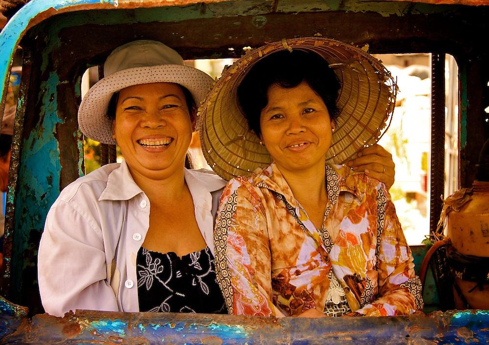 Ho Chi Minh City, Vietnam 2009 Portraits and people of Vietnam.