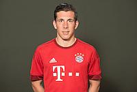 German Soccer Bundesliga 2015/16 - Photocall of FC Bayern Munich on 16 July 2015 in Munich, Germany: Pierre-Emile Hoejbjerg