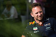 June 8-11, 2017: Canadian Grand Prix. Christian Horner, team principal of Red Bull Racing