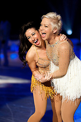 Dancing on Ice Photocall Sheffield Motorpoint Arena Hayley Tamaddon and Denise Welch 7 April 2011 Image © Paul David Drabble