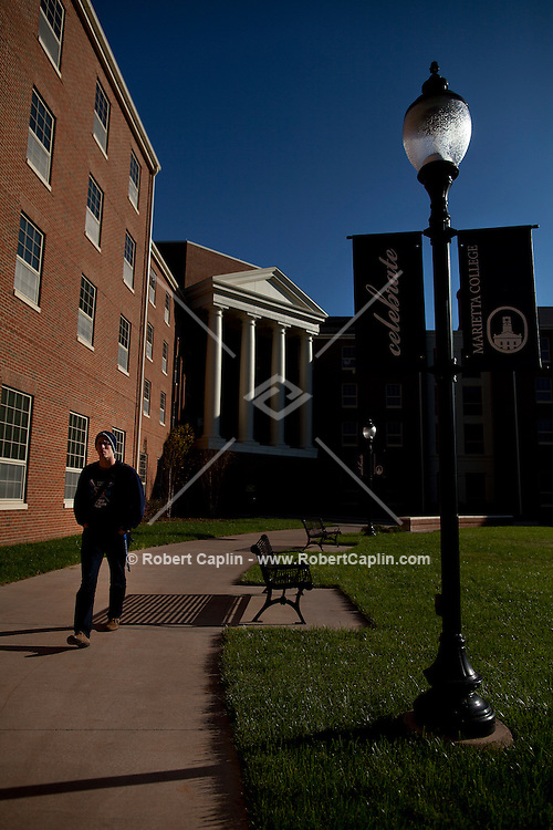 Marietta College Campus Shoot. ..Photo © Robert Caplin...