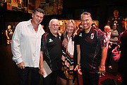 Miles Davis and Sir Peter Leitch ( aka mad butcher ) during the Vodafone Warriors season launch ahead of the 2017 NRL rugby league competition. Sky City, Auckland. Wednesday, 22 February 2017. © Copyright photo: Andrew Cornaga / www.photosport.nz