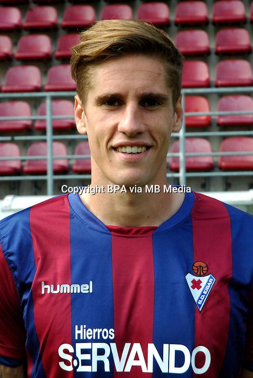Spain - La Liga BBVA  2014-2015 / <br /> ( S.D. Eibar ) - <br /> Raul Albentosa Redal