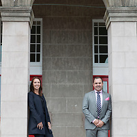 Property Developers Leanne and Graeme Carling…The Carling Group outside their latest development St Stephens School in Blairgowrie<br />for further info contact Fraser Kirk at Volpa on 01738 700134  f.kirk@volpa.co.uk<br />Picture by Graeme Hart.<br />Copyright Perthshire Picture Agency<br />Tel: 01738 623350  Mobile: 07990 594431