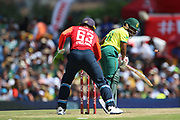 Temba Bavuma bowled during the International T20 match between South Africa and England at Supersport Park, Centurion, South Africa on 16 February 2020.