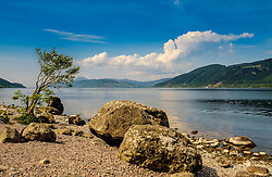 Looking over Loch Ness from the eastern shore near Foyers<br /> <br /> (c) Andrew Wilson | Edinburgh Elite media