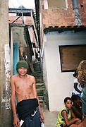 """Kids at favela Vila Parque da Cidade in Rio de Janeiro, Brazil. Reminiscent of the movie """"City of God""""!"""