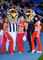 Photo: Leigh Quinnell.<br /> West Bromwich Albion v Coventry City. Coca Cola Championship. 16/12/2006. The West Brom mascots and the News of the world girls warm up the crowd before the game.