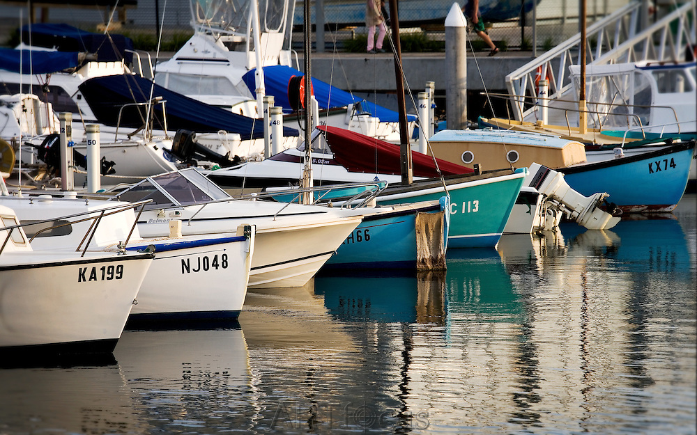 boats at Queenscliff Marina