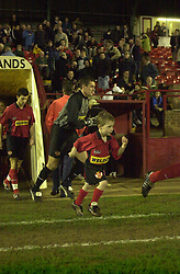 MASCOT KETTERING TOWN, Kettering Town v Hednesford 12th February 2002