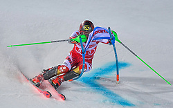 19.02.2019, Stockholm, SWE, FIS Weltcup Ski Alpin, Parallelslalom, Herren, im Bild Marcel Hirscher (AUT) // Marcel Hirscher of Austria in action during the men's parallel slalom of FIS ski alpine world cup at the Stockholm, Sweden on 2019/02/19. EXPA Pictures © 2019, PhotoCredit: EXPA/ Nisse Schmidt<br /> <br /> *****ATTENTION - OUT of SWE*****