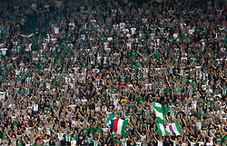 25.08.2016, Allianz Stadion, Wien, AUT, UEFA EL, SK Rapid Wien vs FK AS Trencin, Play off, Rueckspiel, im Bild Fans von Rapid // during the UEFA Europa League Play off 2nd Leg Match between SK Rapid Wien and FK AS Trencin at the Allianz Stadion, Vienna, Austria on 2016/08/25. EXPA Pictures © 2016, PhotoCredit: EXPA/ Sebastian Pucher