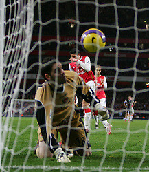 London, England - Tuesday, January 2, 2007: Arsenal's Robin Van Persie scores from the penalty spot against Charlton Athletic during the Premiership match at the Emirates Stadium. (Pic by Chris Ratcliffe/Propaganda)