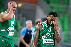 Ryan Jamar Boatright of KK Cedevita Olimpija during EuroCup basketball match between teams KK Cedevita Olimpija and Nanterre 92 in Round 4, Arena Stozice, 23. October, Ljubljana, Slovenia. Photo by Grega Valancic / Sportida