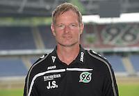 German Soccer Bundesliga 2015/16 - Photocall of Hannover 96 on 13 July 2015 in Hanover, Germany: goalkeeping-coach Joerg Sievers