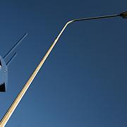 Lamp post and traffic camera