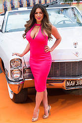 © Licensed to London News Pictures. 19/05/2016.  CASEY BATCHELOR attends The Nice Guys UK film premiere. London, UK. Photo credit: Ray Tang/LNP