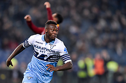 March 2, 2019 - Rome, Rome, Italy - Felipe Caicedo of SS Lazio celebrates scoring first goal during the Serie A match between Lazio and Roma at Stadio Olimpico, Rome, Italy on 2 March 2019. (Credit Image: © Giuseppe Maffia/NurPhoto via ZUMA Press)
