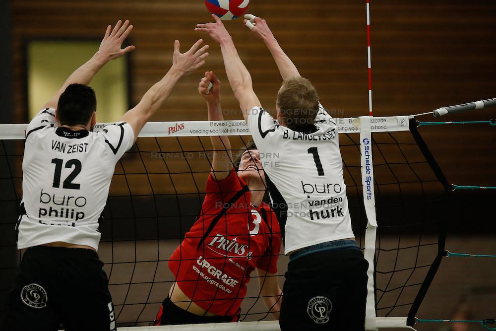 20170225 NED: Eredivisie, Valei Volleybal Prins - Coolen - Alterno: Ede<br />Sander Heithuis<br />©2017-FotoHoogendoorn.nl / Pim Waslander