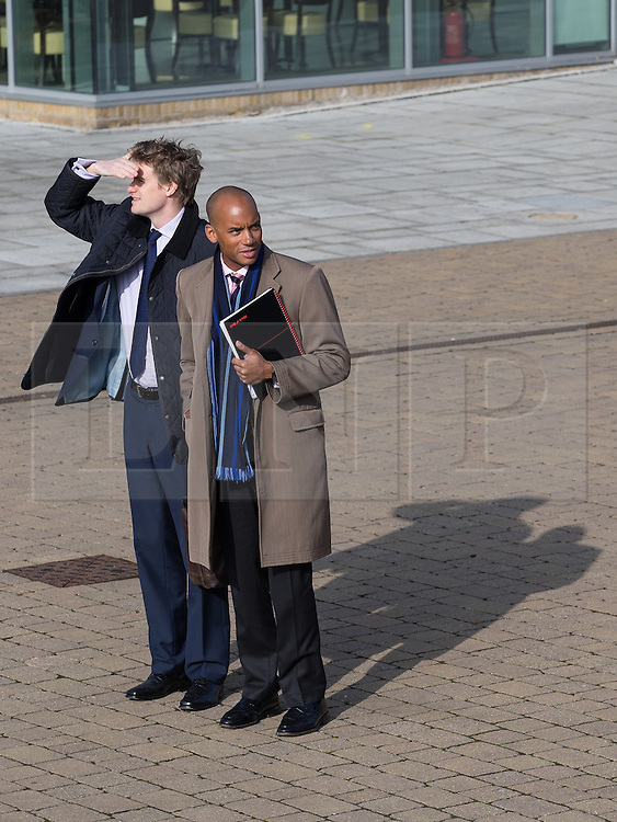 "© Licensed to London News Pictures . 01/03/2014 . London , UK . Chuka Umunna arrives at the conference . The Labour Party hold a one day "" Special Conference "" at the Excel Centre in London today (Saturday 1st March 2014) . Photo credit : Joel Goodman/LNP"