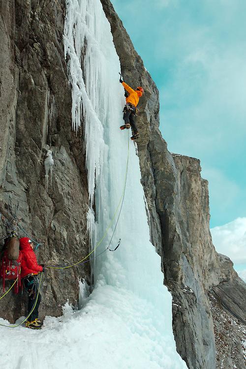 Ice Climbing Kidd Falls