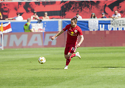 September 30, 2018 - Harrison, New Jersey, United States - Alex Muyl (19) of Red Bulls control ball during regular MLS game against Atlanta United FC at Red Bull Arena Red Bulls won 2 - 0 (Credit Image: © Lev Radin/Pacific Press via ZUMA Wire)
