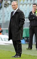 L'allenatore Alberto Zaccheroni (Juventus)<br /> Torino 28/03/2010 Stadio Olimpico<br /> Juventus Atalanta - Campionato di Serie A Tim 2009-10.<br /> Foto Giorgio Perottino / Insidefoto