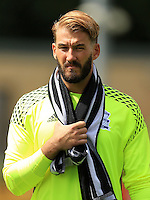 Birmingham City goalkeeper Adam Legzdins