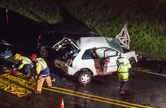 Tauranga-One dead after two car crash near the Maungatapu Bridge