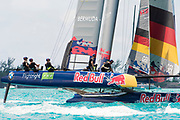 The Great Sound, Bermuda, 20th June 2017, Red Bull Youth America's Cup Finals. Race two, Next Generation - Team Germany