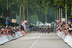 Crash in the final 150 metres at Boels Rental Ladies Tour Stage 2 a 132.8 km road race from Eibergen to Arnhem, Netherlands on August 30, 2017. (Photo by Sean Robinson/Velofocus)