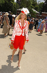 MRS BEN SANGSTER at the first day of the Royal Ascot racing festival 2006 at Ascot Racecourse, Berkshire on 20th June 2006.<br />