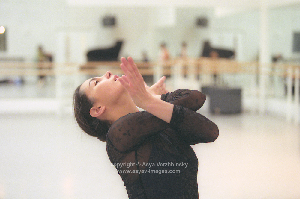 Tamara Rojo as Nikiya in rehearsal for Natalia Makarova's staging of La Bayadere.