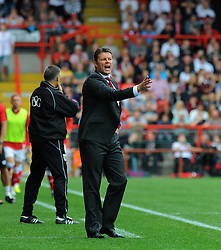 Bristol City manager, Steve Cotterill  - Photo mandatory by-line: Nizaam Jones- Mobile: 07583 3878221 - 27/09/2014 - SPORT - Football - Bristol - Ashton Gate - Bristol City v MK Dons - Sports