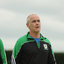Charlestown&rsquo;s manager Paul Jordan<br />Pic Conor McKeown