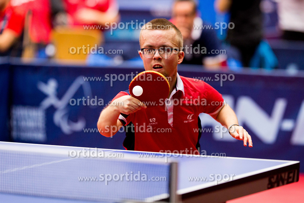 BOUVAIS Thomas during day 1 of 15th EPINT tournament - European Table Tennis Championships for the Disabled 2017, at Arena Tri Lilije, Lasko, Slovenia, on September 28, 2017. Photo by Ziga Zupan / Sportida