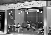 08/08/1962<br /> 08/08/1962<br /> 08 August 1962 <br /> Dublin Horse show at the RDS, Ballsbridge, Dublin, Wednesday. Doyle and O'Sullivan Stand at the RDS Horse Show. Furniture and building materials display.