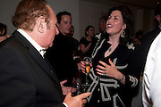 ANDREW NEIL; KIRSTIE ALSOP, Book launch party for the paperback of Nicky Haslam's book 'Sheer Opulence', at The Westbury Hotel. London. 21 April 2010