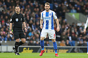 Brighton and Hove Albion midfielder Dale Stephens (6) during the Premier League match between Brighton and Hove Albion and Chelsea at the American Express Community Stadium, Brighton and Hove, England on 16 December 2018.