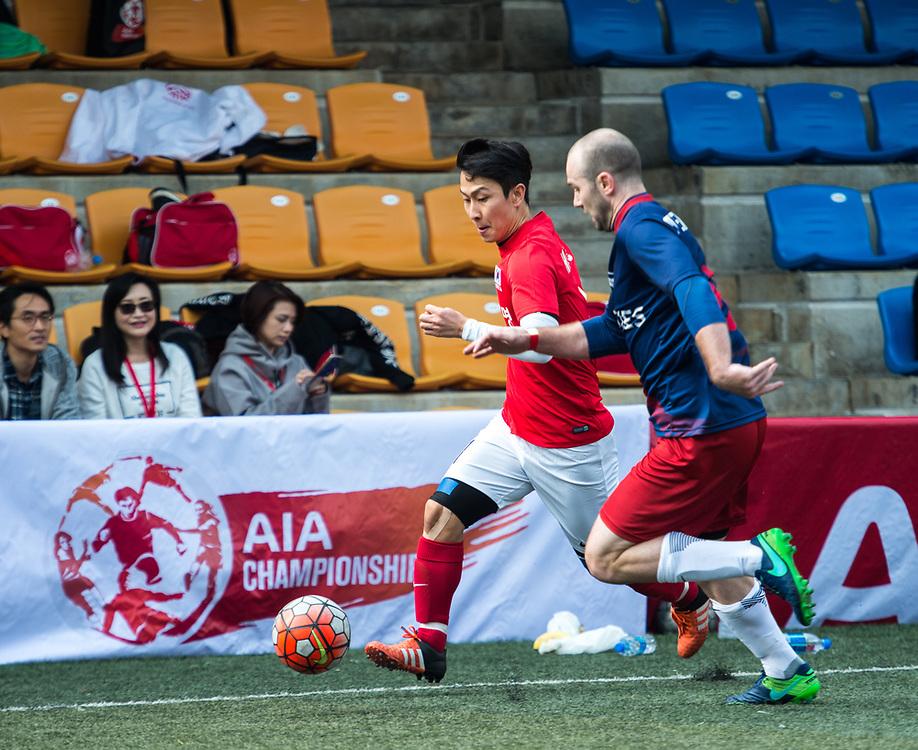 01Team AK vs AiA Kozzies  for  AIA Championship 2017 at Hong Kong Football Club on March 03, 2017 in Hong Kong. <br /> (Photo by Li Man Yuen via MozImages)